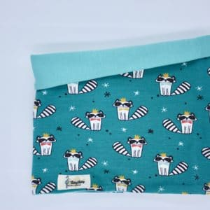 Buff reversible mapaches y mint