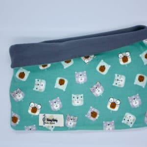 Buff reversible osos mint y gris