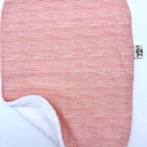 Toallita rayas rosa chicle