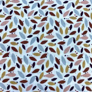 Tela (1) Pétalos colores